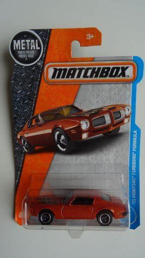 Firebird Formula Matchbox Mbx matchbox 71 pontiac firebird formula new for sale in clonmel tipperary from andy78