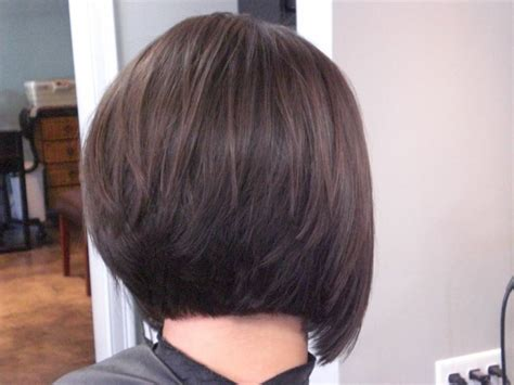 bob with stacked in back and short in front stacked bob back view hairstyles ideas