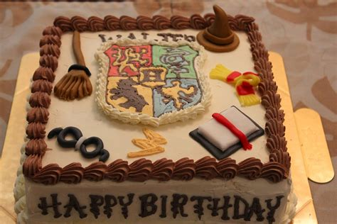 How To Make Birthday Decorations At Home by Tortelicious Harry Potter Cake