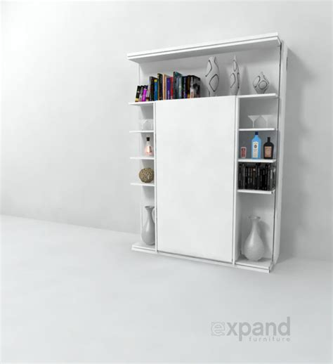 white revolving bookcase revolving bookcase italian wall bed expand furniture