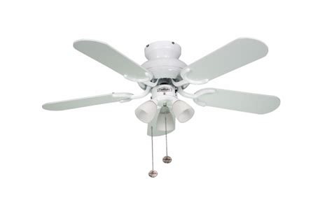 fantasia 111726 36in amalfi gloss white ceiling fan with light
