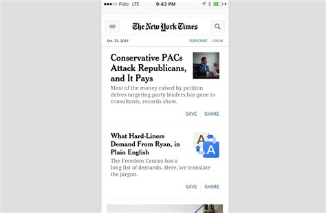 nytimes mobile essential tips for converting a desktop site to mobile