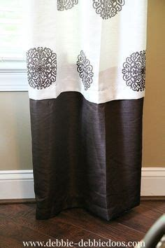 how to make curtains without sewing 25 best ideas about lengthen curtains on pinterest