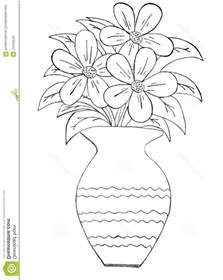 Galerry coloring flower in a vase