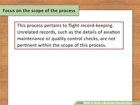 How To Write A Business Process Document 15 Steps With