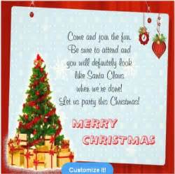 christmas invitation wording christmas celebrations