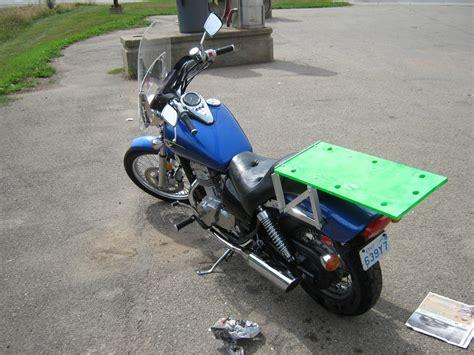 Diy Luggage Rack Motorcycle by Diy Motorcycle Rack Grumble Grumble