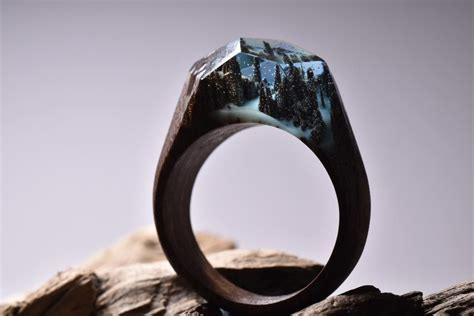 Is The Lnternet And Ring by Get Lost In The Landscape Contained Inside This Ring