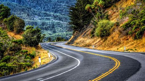 hp wallpaper winding road the winding road psalm 121 3 for you