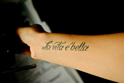 la bella vita tattoo pin by hodgdon caso on ideas