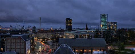 Aarhus Denmark Mba by Louis Poulsen Artichoke Light Fixtures Shine In This