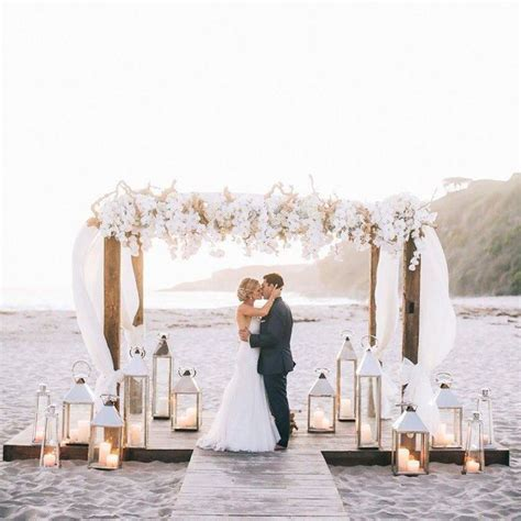25  best ideas about Beach wedding arches on Pinterest