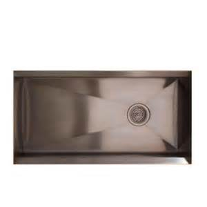 Home Depot Stainless Steel Kitchen Sinks Kohler 8 Degree Undermount Stainless Steel 33x18x10 0