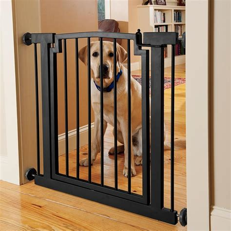 large dog gates for house guide to the best dog gates for 2018 woof whiskers