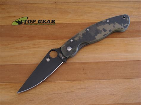 spyderco tactical spyderco tactical folding knife digital camo