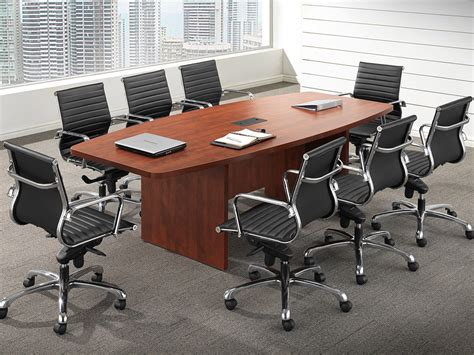 affordable office 8 boat shaped conference table baystate