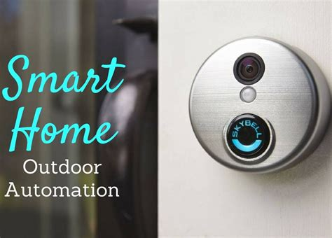 smart home automation ideas for the outdoors lektron