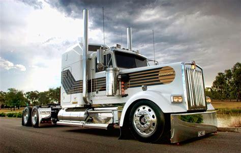 film semi james bond klos custom trucks james bond 007 kenworth w900l