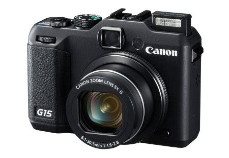 canon widens the advance compact war with the g15 gadget