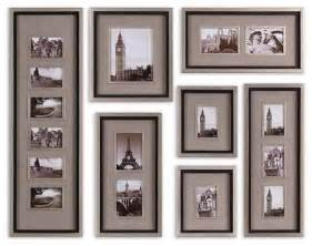 decor picture frames art massena photo frame collage set of  traditional picture frames