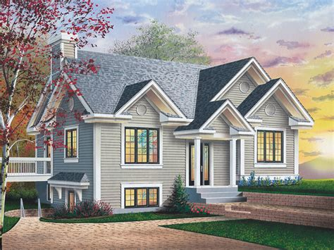sloped lot house plans 12 amazing sloped lot house plans house plans 61074