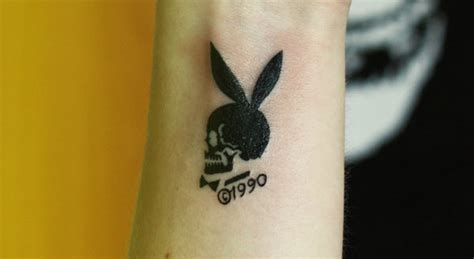 small playboy bunny tattoos 19 bunny tattoos for and entertainmentmesh