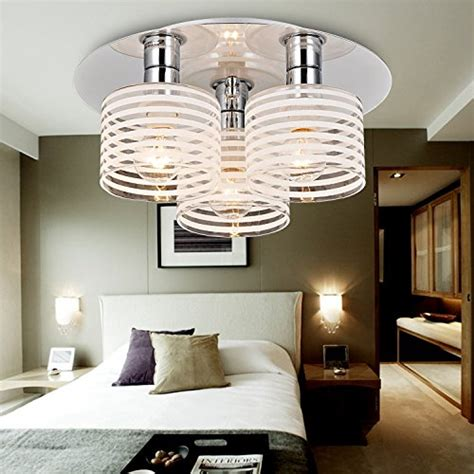 glass ceiling bedroom oofay light 174 simple and elegant modern 3 head chandelier