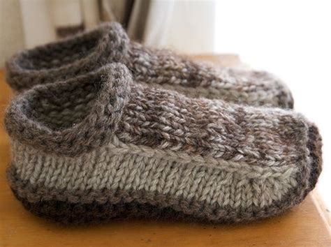 knitted slippers pattern slipper knitting patterns in the loop knitting