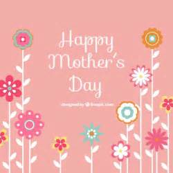 happy mothers day background vector free