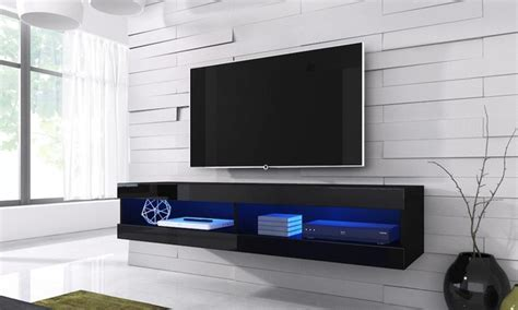 Volant Floating TV Cabinet   Groupon Goods