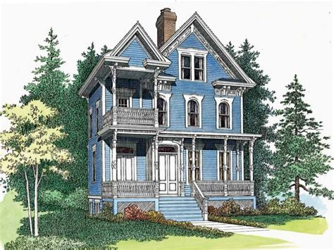 Queen Anne Victorian Home Plans | eplans queen anne house plan delicate queen anne
