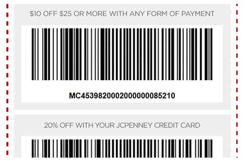jcp coupon code august 2018