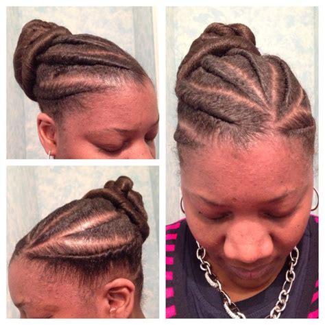 flat twist in a bun flat twist in a bun braids twists pinterest