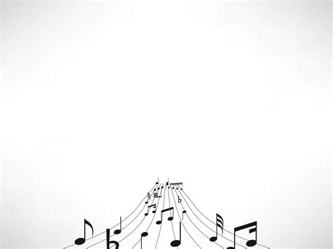 music wallpaper pinterest music notes powerpoint template ppt backgrounds black
