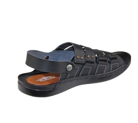 mens leather slipper sandals mens sandals casual walking slipper leather