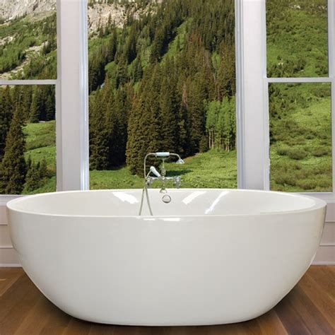 Freestanding Soaking Tub For Two Oasis 6640 Bathtub Freestanding Soaking Air Tu