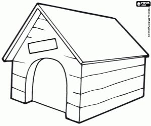 dog house coloring page puppy young dog coloring pages printable games