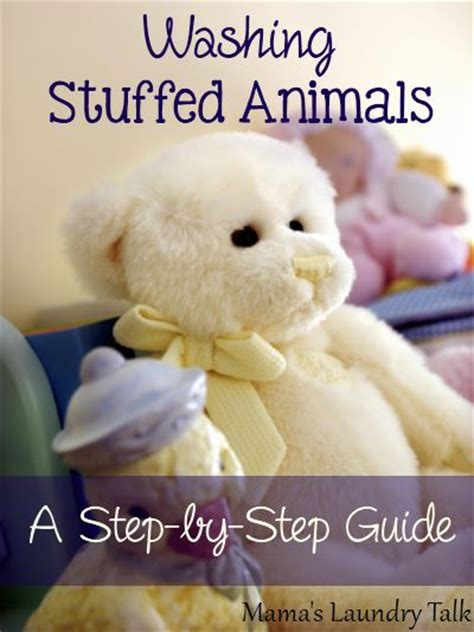 17 best ideas about washing stuffed animals on