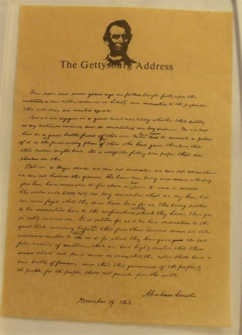 gettysburg address gettysburg address the gettysburg address on parchment from carolines collectibles on ruby