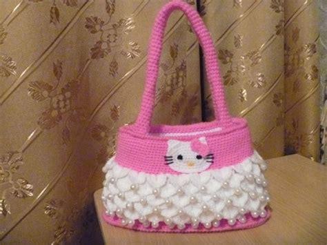 crochet pattern hello kitty bag hello kitty bag free crochet pattern crochet free