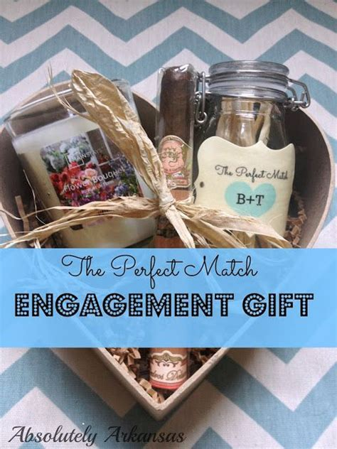 The Perfect Match Engagement gift! Matches & a candle