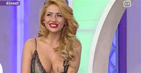 tv presenter left exposed by on air wardrobe malfunction