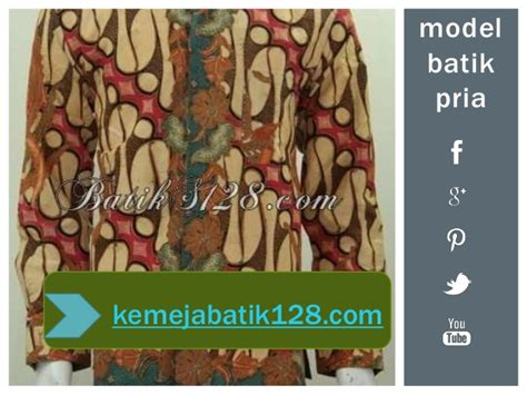 Kemeja Batik Katun Cap Elegan Batik Nurisma 4 kemeja batik