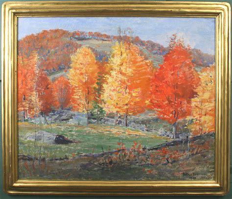 arthur  wilder painting vermont maples  autumn