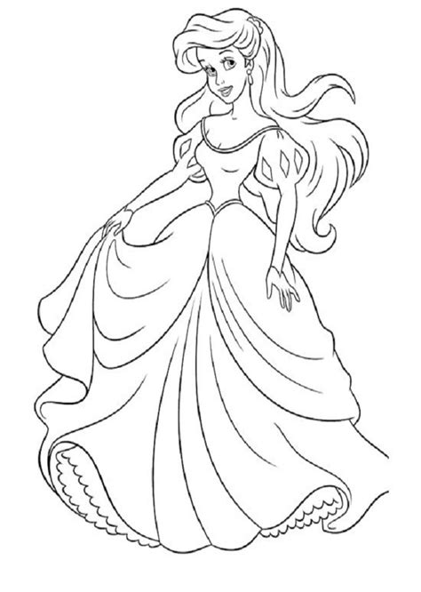 dibujos para pintar gratis de princesas dibujos para colorear princesas dibujos para colorear