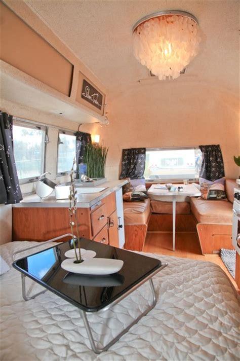 Airstream Interiors Modern by 1960 Airstream Carvel Interior Modern Bedroom San