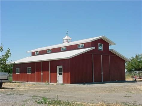 agricultural pole building horse barns  arenas
