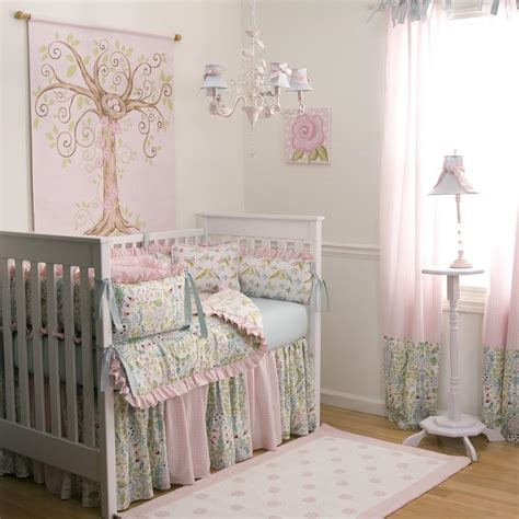 Baby Bedroom Design Birds Crib Bedding Baby Crib Bedding In Birds Carousel Designs
