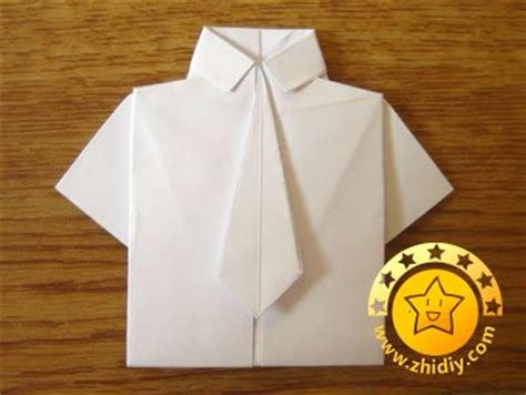 How To Make A Paper Shirt And Tie Card - 25 unique origami shirt ideas on origami