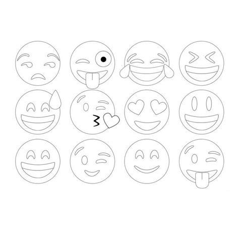 imagenes de whatsapp en blanco y negro los mejores dibujos de emojis para colorear demojis co
